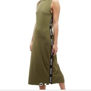 Ivy Park Green Midi Dress